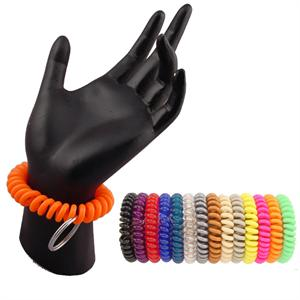 Super Coil Wrist Key Holder Keychain Refill Packs