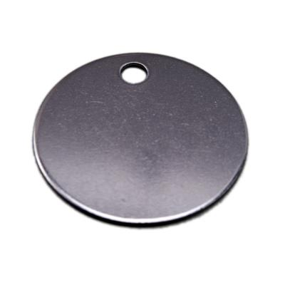 1.5 inch Round Tag Stainless Steel - Type 304