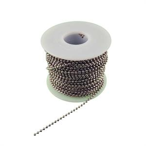 Number 3 Ball Chain Spool Nickel Plated Steel