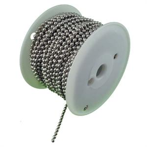 Number 10 Ball Chain Nickel Plated Steel 100ft Spool