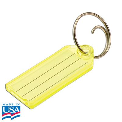 Lucky Line Standard Key Tag with Tang Ring 25/Pack by Color