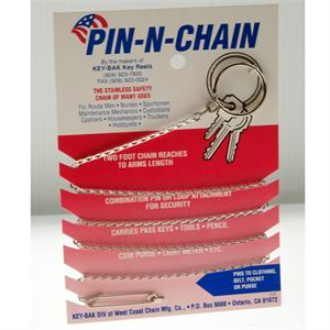 Key Bak Pin n Chain 24""