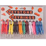 Plastic Snap Clip Key Chains