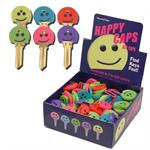 Happy Face Key Identifier Caps Covers