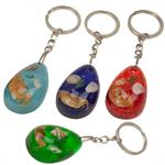 Sea Life Embedded in Acrylic Key Chains 12 to a Card