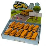 School Bus Keychain Long 12/Box