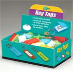 Lucky Line Key ID Tag with Flap 100 to a Box Assorted Colors