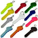 Big Plastic Key Keycahin Bulk Each  by Color