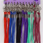 Neckstring Lanyard Key Holder 24/Card Assorted