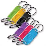 Lucky Line Two Part Plastic Key Separator 10/Pack by Color