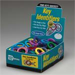 Lucky Line Large Key Identifier Rings USA MADE 150/Box ASSORTED Standard Colors