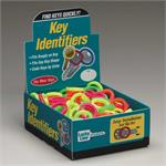 Lucky Line Medium Key Identifier Rings USA MADE 200/Box ASSORTED Neon Colors