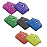 Lucky Line House Key Caps USA MADE Refills by Color 25/Pack