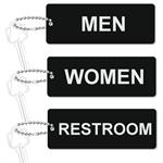 Engraved Bathroom Tag - Standard Rectangle 1.75